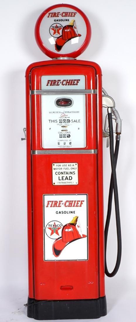 Gilbarco Texaco Fire Chief Gas Pump
