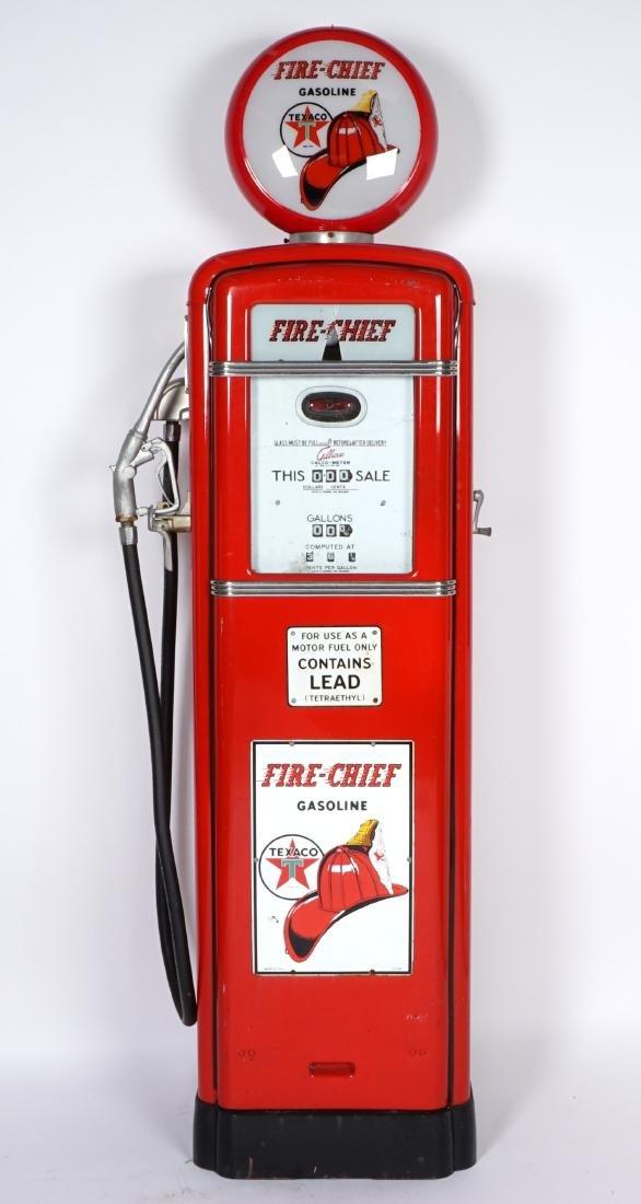 Gilbarco Texaco Fire Chief Gas Pump - 3
