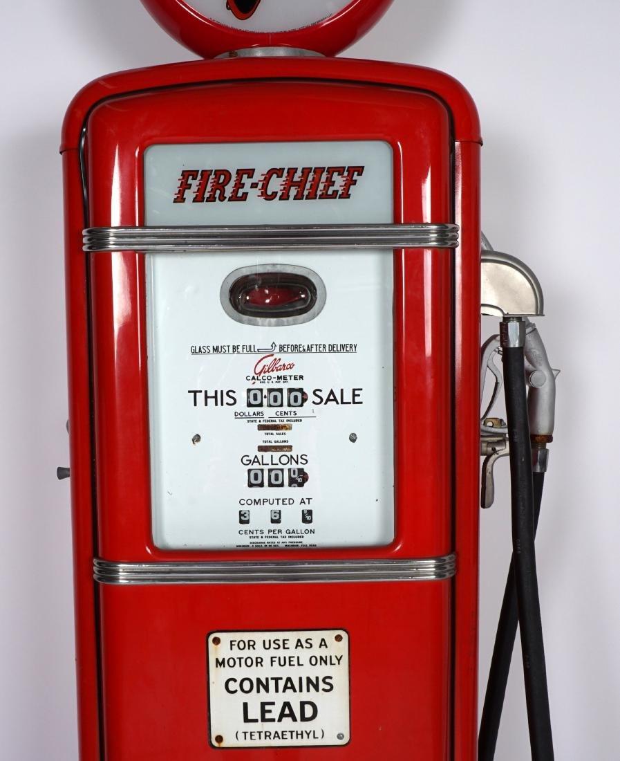 Gilbarco Texaco Fire Chief Gas Pump - 7