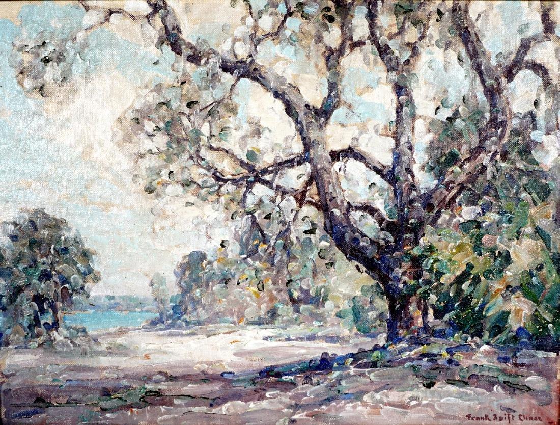 2 Frank Swift Chase Florida Landscape Paintings - 3