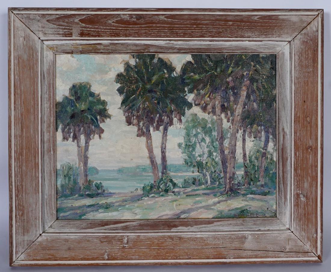 2 Frank Swift Chase Florida Landscape Paintings - 6