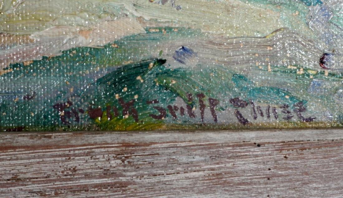 2 Frank Swift Chase Florida Landscape Paintings - 9