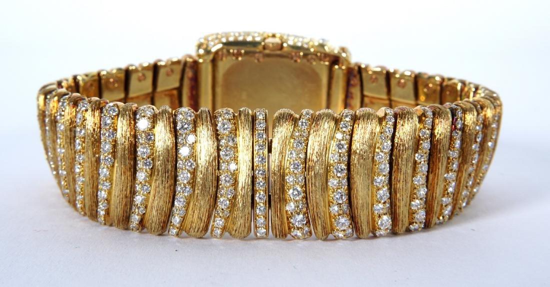 Henry Dunay 18k Gold & 852 Diamonds Watch - 6