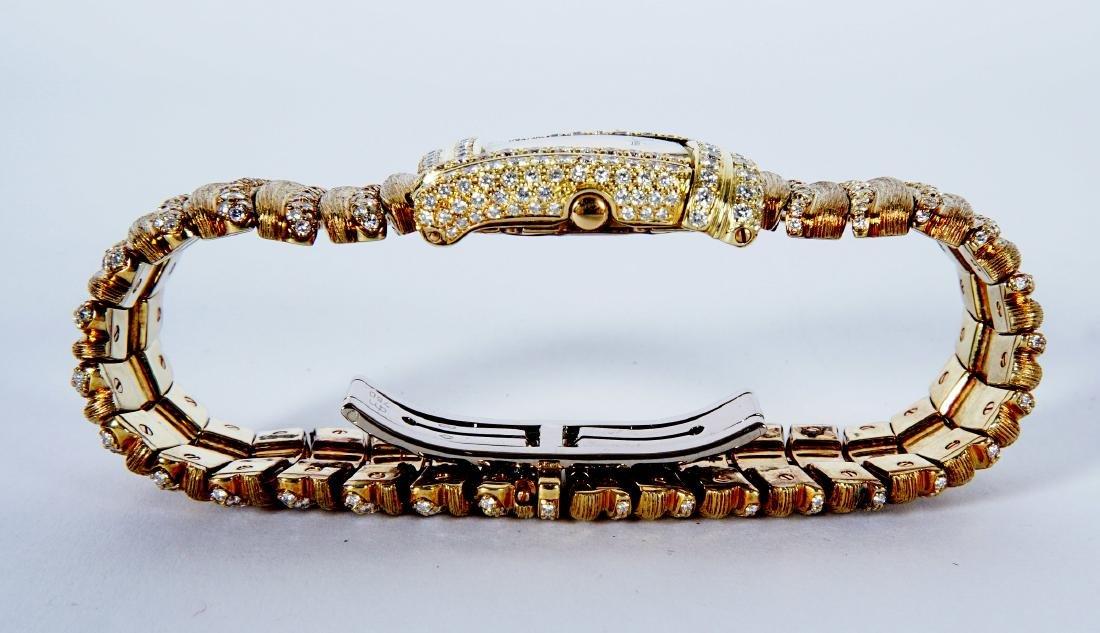 Henry Dunay 18k Gold & 852 Diamonds Watch - 7