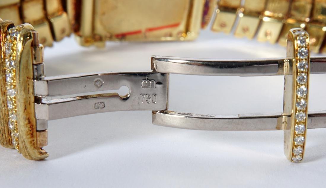 Henry Dunay 18k Gold & 852 Diamonds Watch - 9