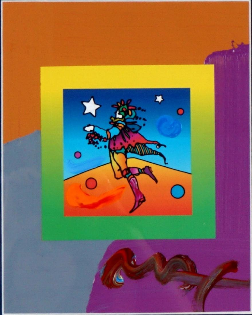 Peter Max Star Catcher Mixed Media