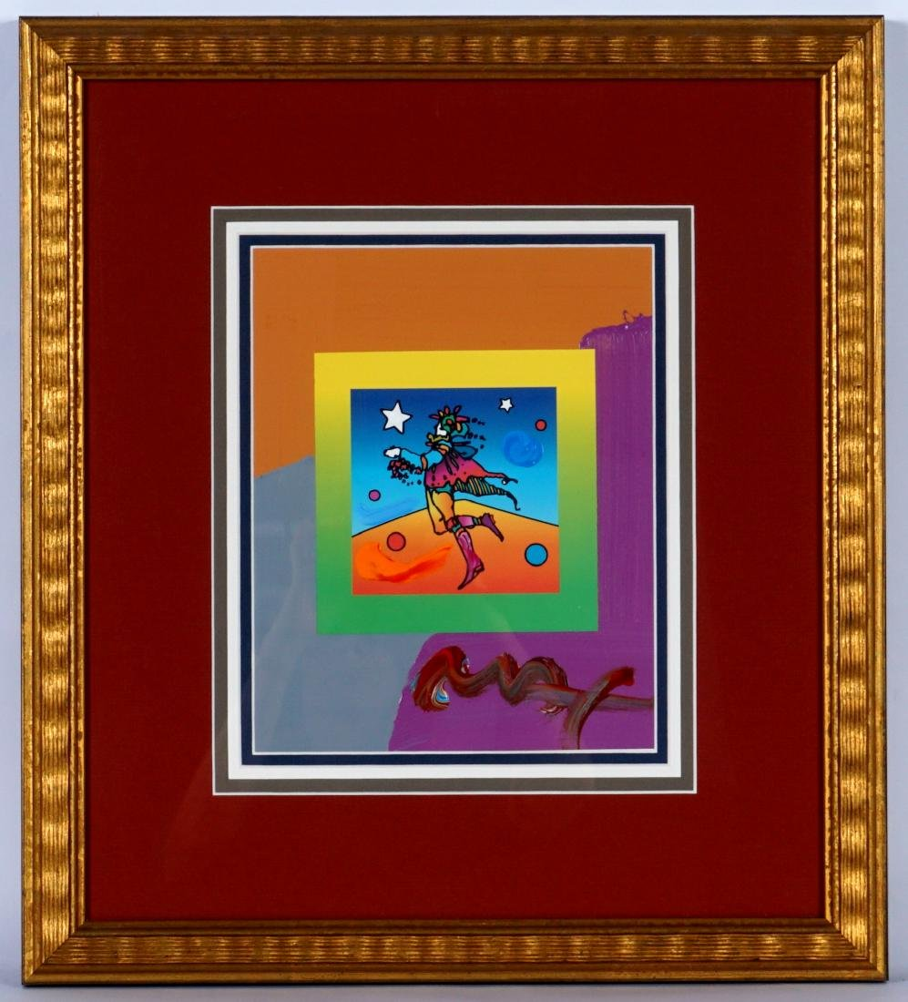Peter Max Star Catcher Mixed Media - 2