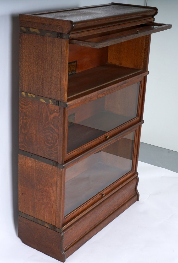 Globe-Wernicke Barrister Stacking Bookcase - 2