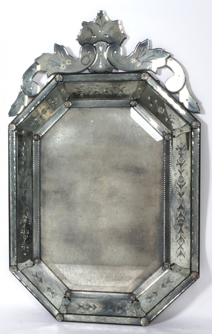 Contemporary Venetian Style Wall Mirror - 2