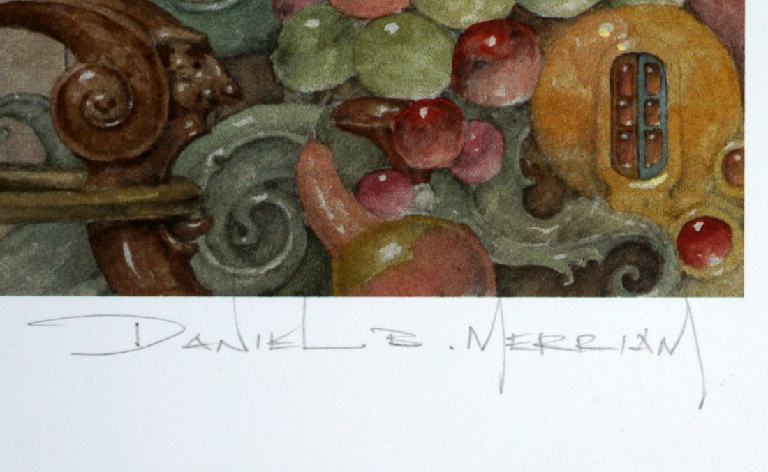 Daniel Merriam Money at the Piano Lithograph - 5