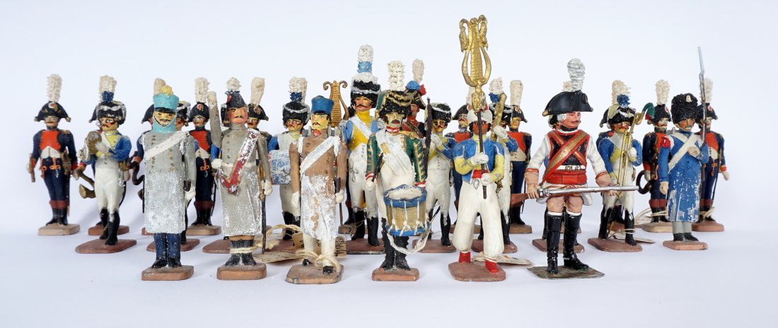Collection of 30 French Ballada Toy Soldiers - 2