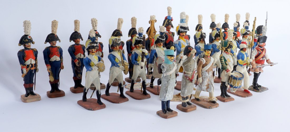 Collection of 30 French Ballada Toy Soldiers - 4