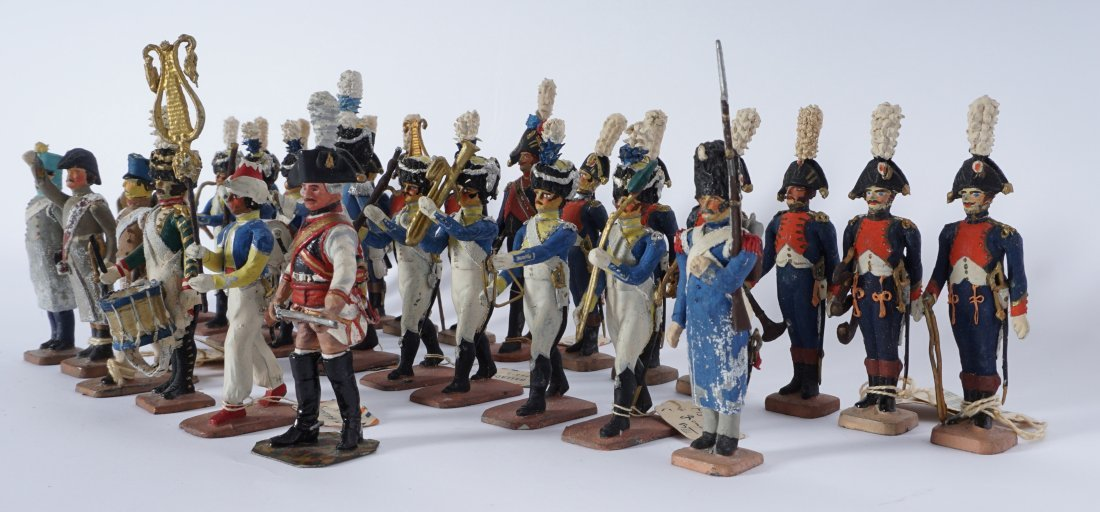 Collection of 30 French Ballada Toy Soldiers - 5