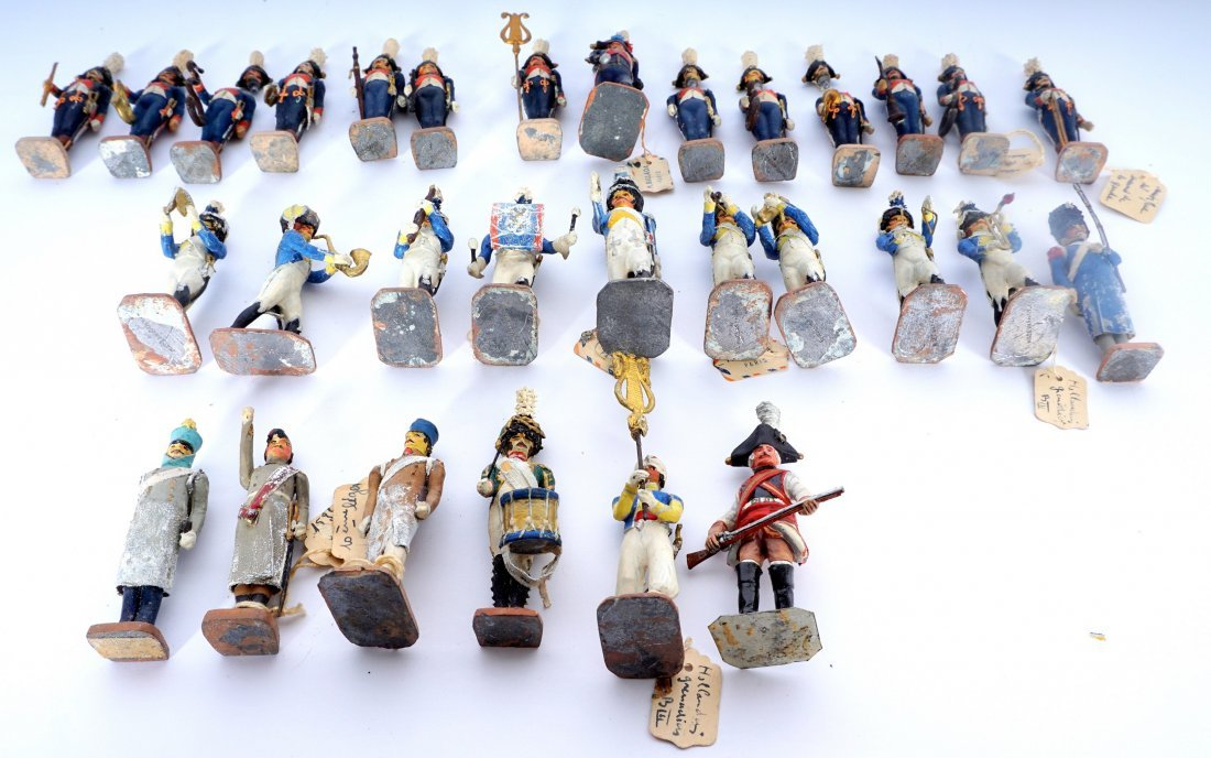 Collection of 30 French Ballada Toy Soldiers - 6