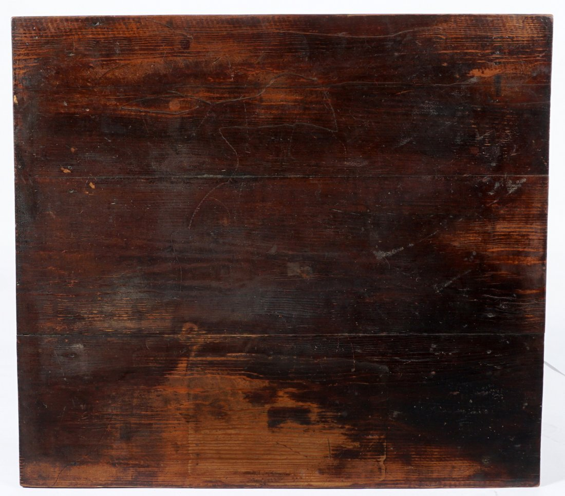 19th Century 2 Drawer Sea Captain's Desk - 10