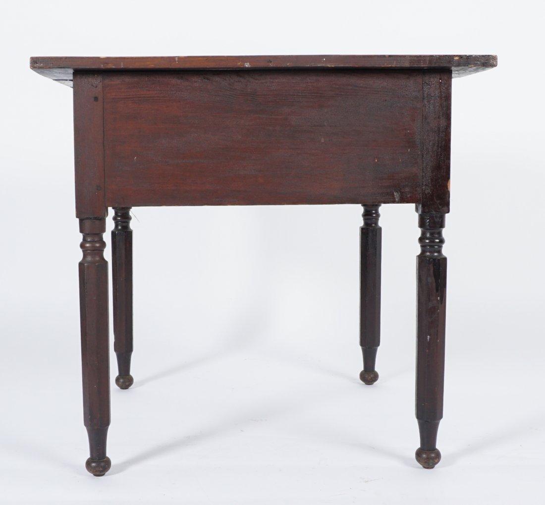19th Century 2 Drawer Sea Captain's Desk - 8