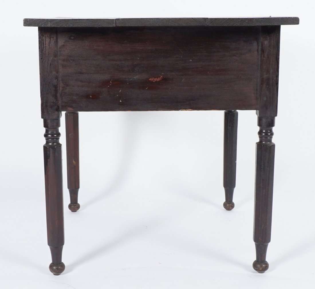 19th Century 2 Drawer Sea Captain's Desk - 9