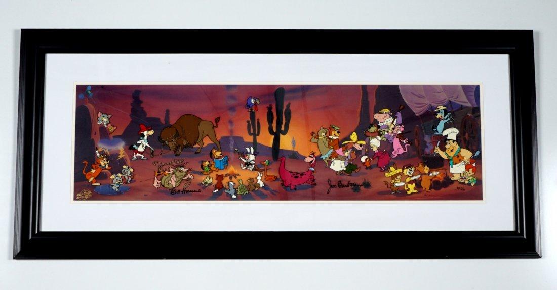 Hanna Barbera Western Jamboree Signed Cel - 2