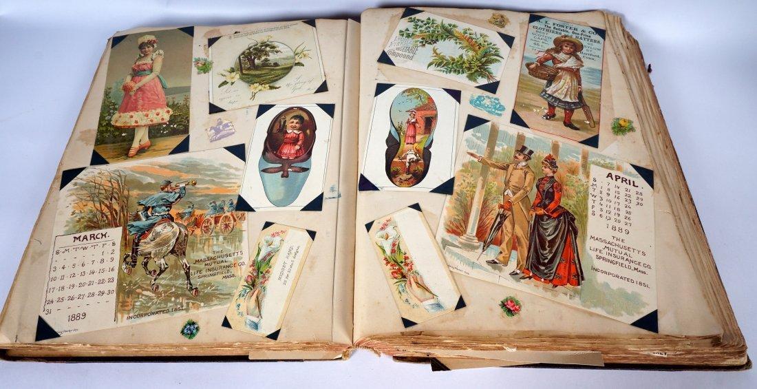 Victorian Trade Advertising Cards Scrapbook - 3