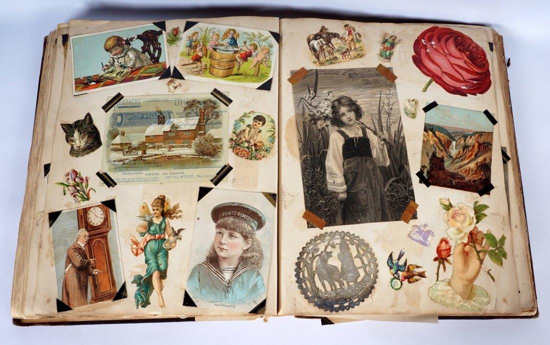 Victorian Trade Advertising Cards Scrapbook - 4