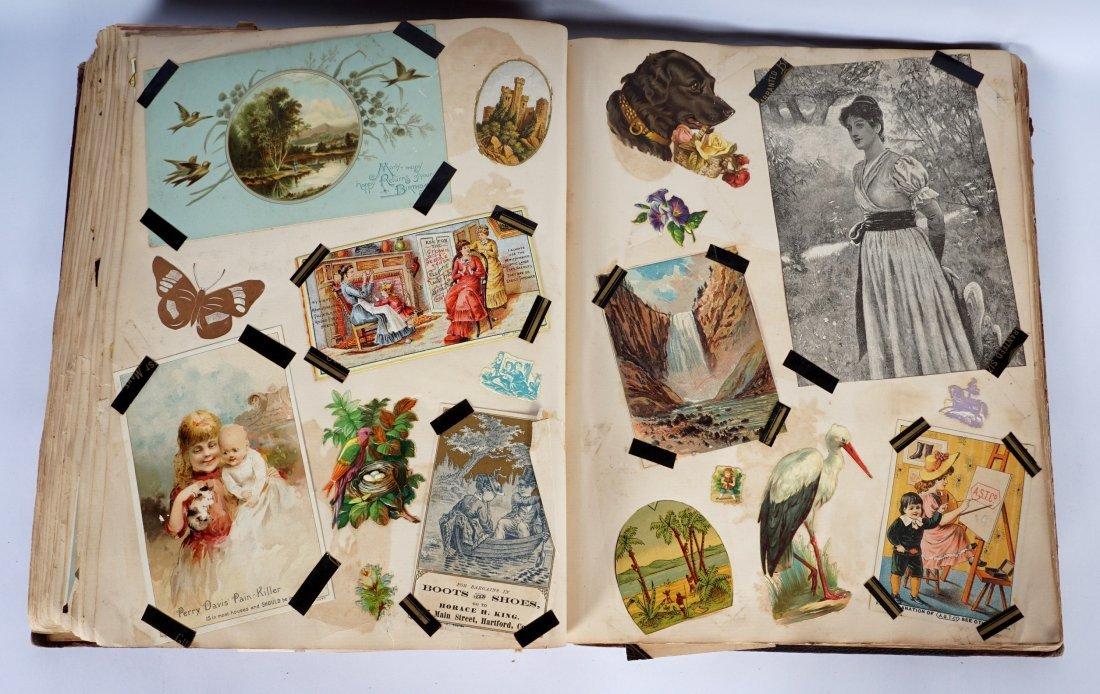 Victorian Trade Advertising Cards Scrapbook - 6