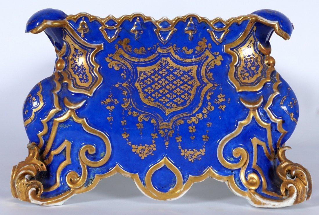 Old Paris Jacob Petit?  Porcelain Planter / Ferner - 3