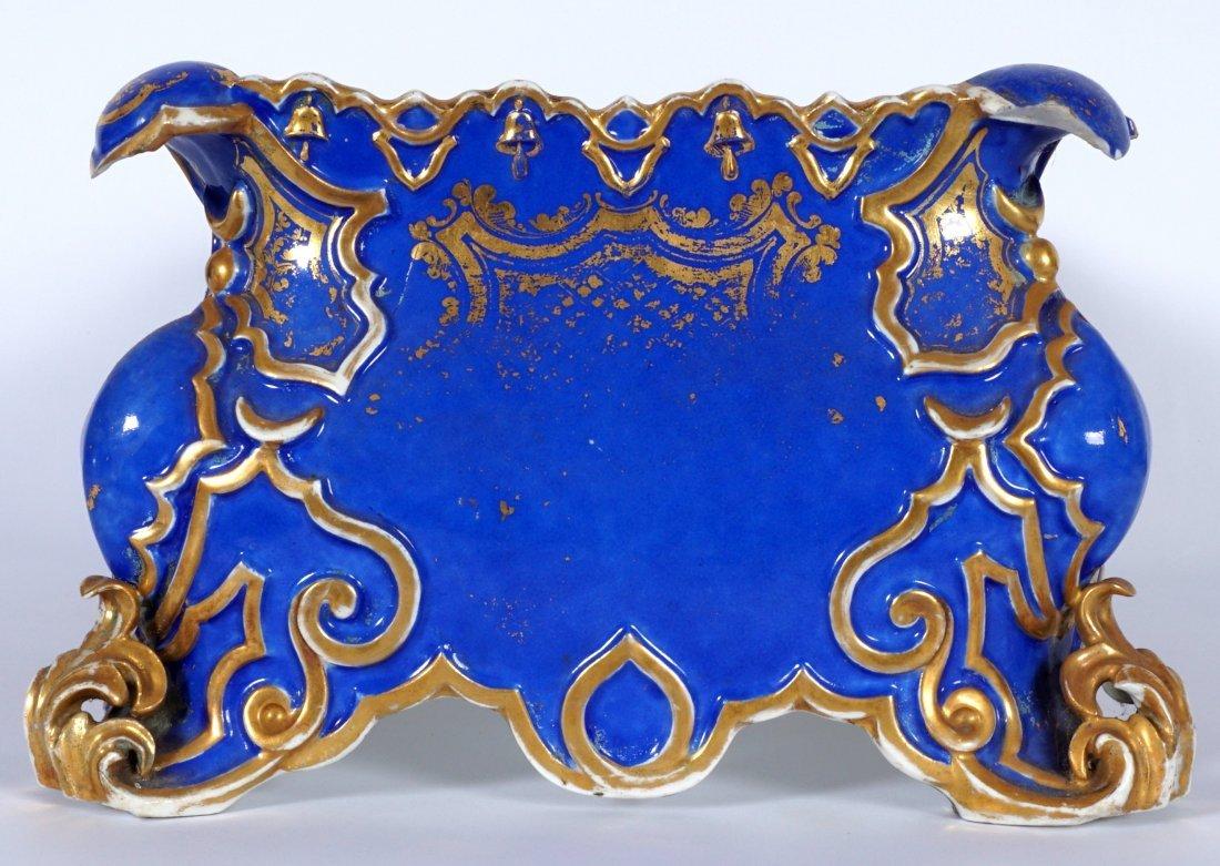 Old Paris Jacob Petit?  Porcelain Planter / Ferner - 5