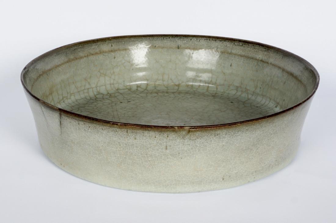 Chinese Song Dynasty Celadon Brush Washer