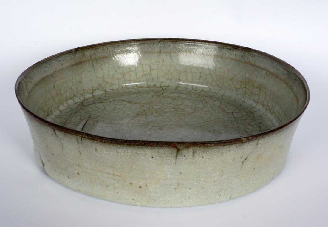 Chinese Song Dynasty Celadon Brush Washer - 5