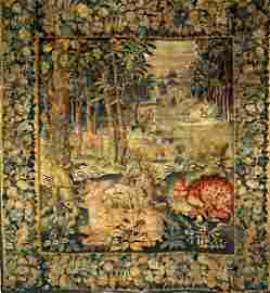 17th/18th Century Large Flemish Tapestry