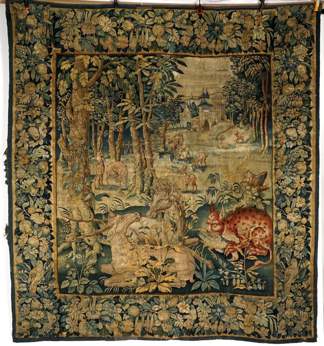 17th/18th Century Large Flemish Tapestry - 2