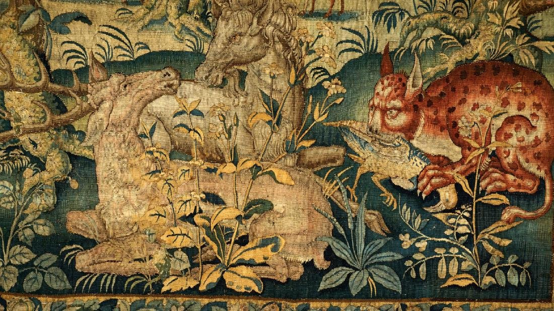 17th/18th Century Large Flemish Tapestry - 3