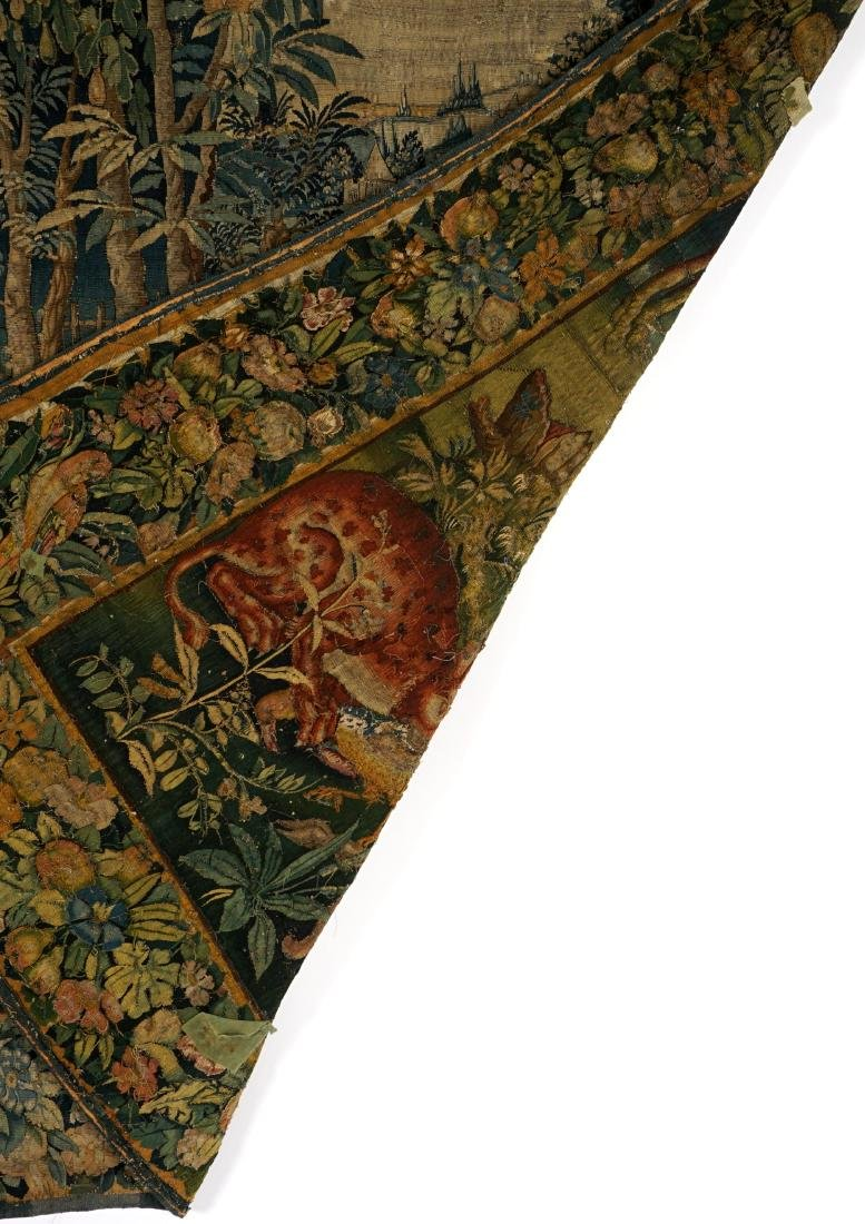 17th/18th Century Large Flemish Tapestry - 4