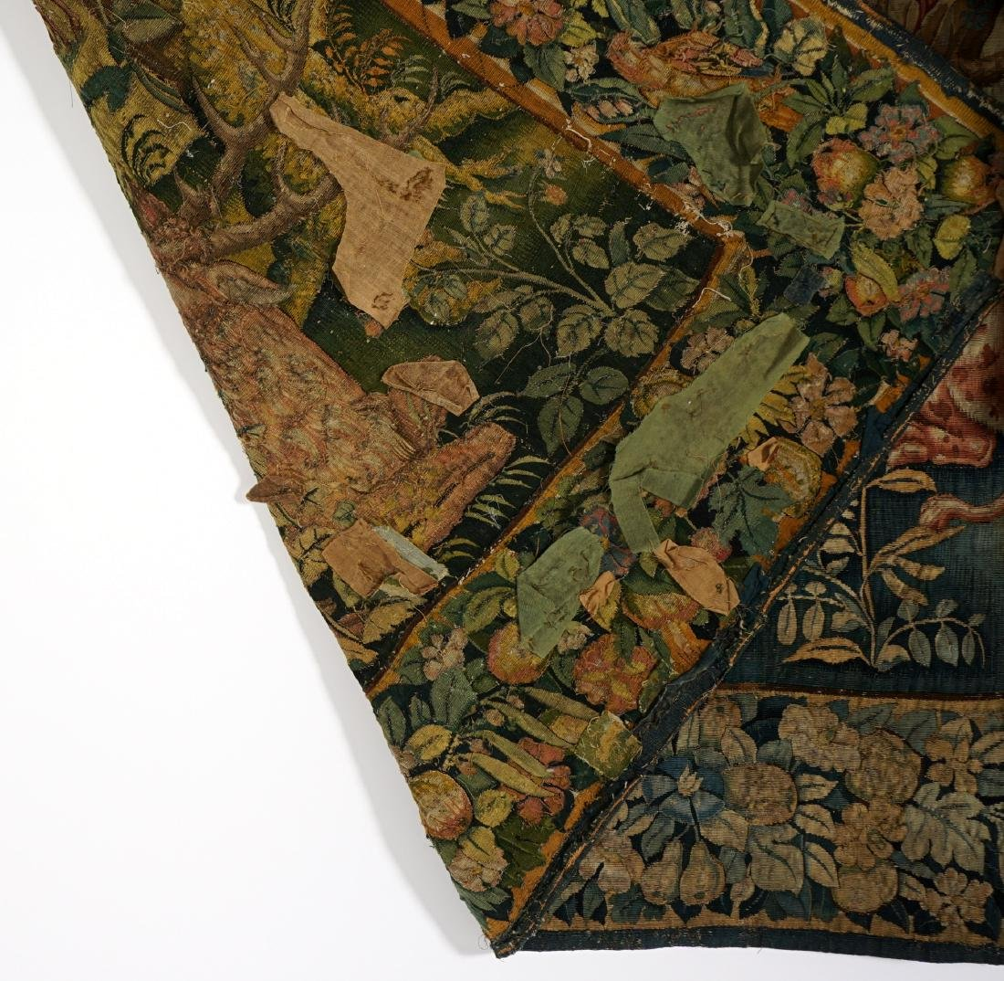 17th/18th Century Large Flemish Tapestry - 5