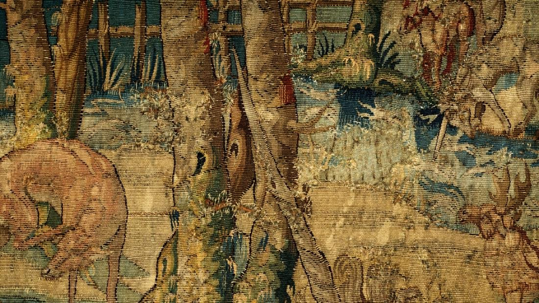 17th/18th Century Large Flemish Tapestry - 6
