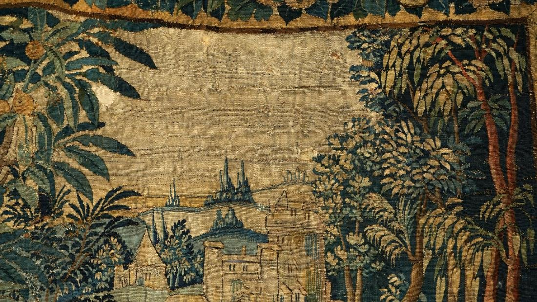 17th/18th Century Large Flemish Tapestry - 7