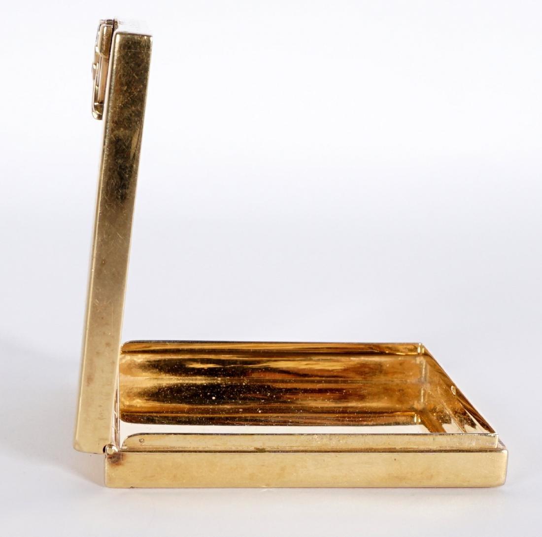 Tiffany Art Deco 14k Gold & Ruby Compact - 6