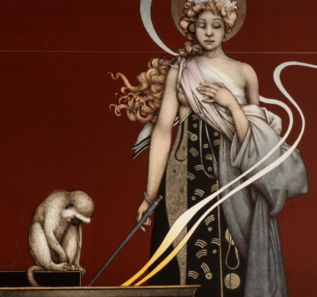 Michael Parkes Sacred Fire I and II Lithographs - 3