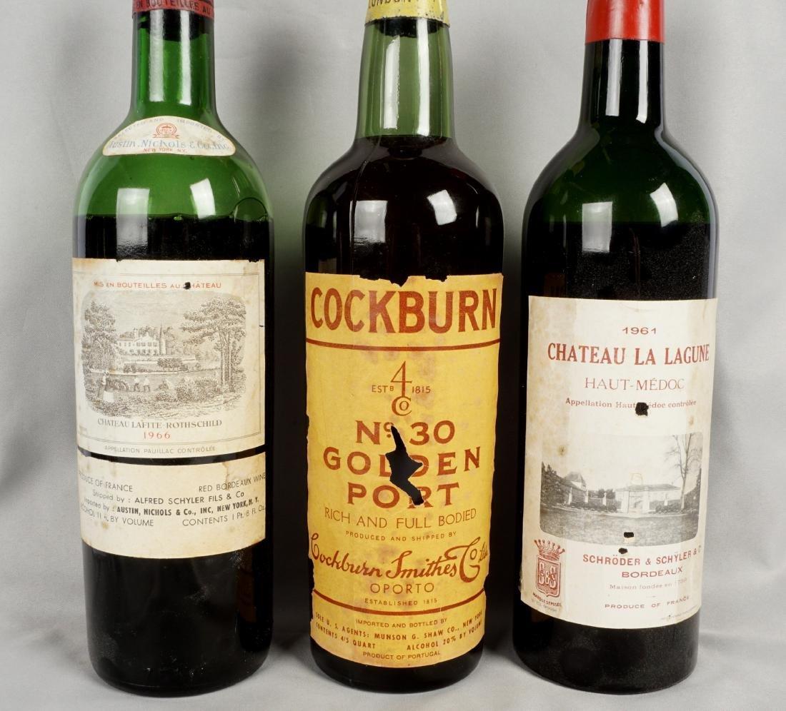 Collection of Five Vintage Fine Wine Bottles - 2