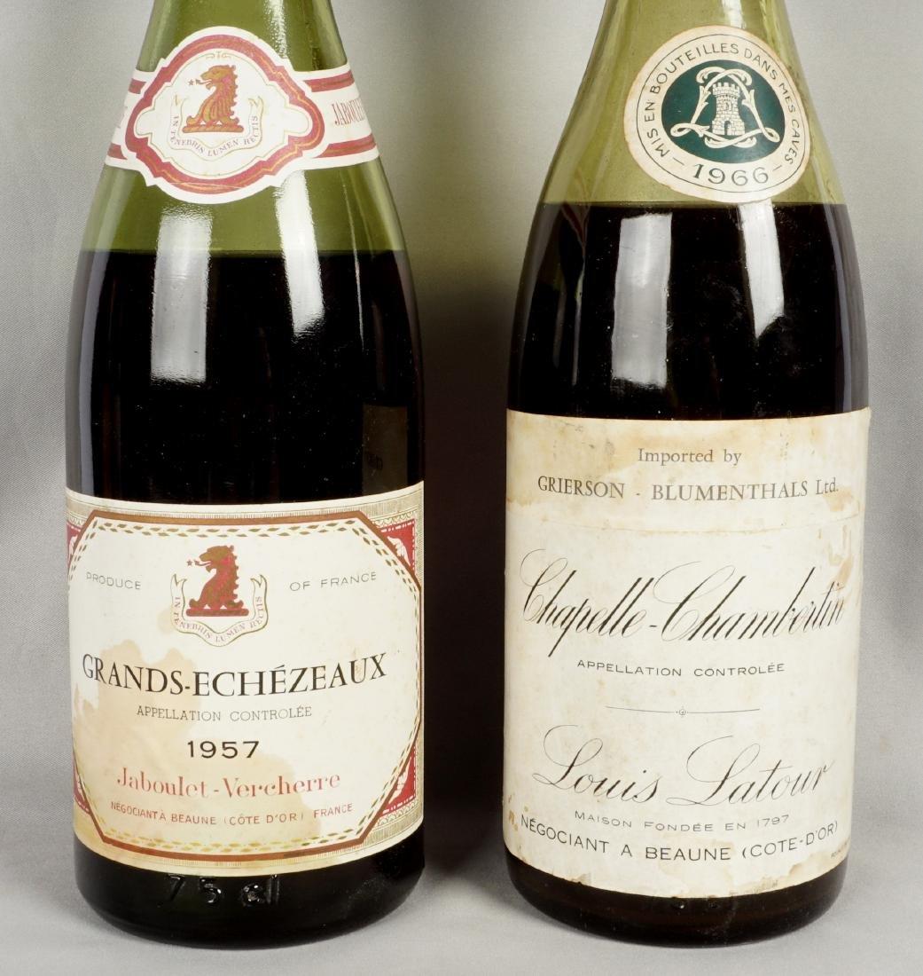 Collection of Five Vintage Fine Wine Bottles - 3