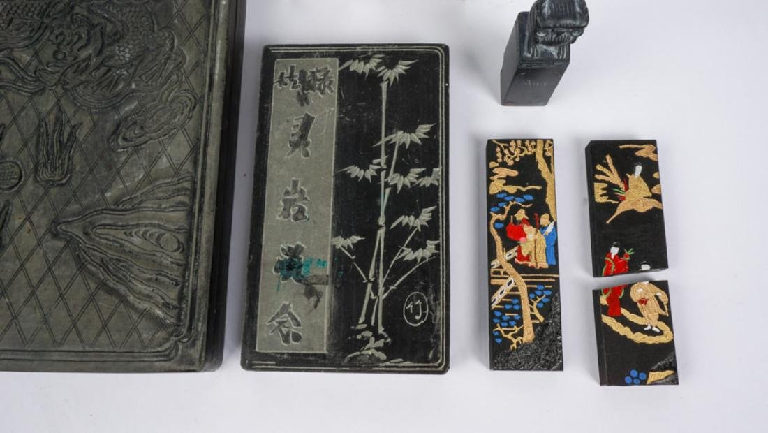 Collection of Chinese Seals & Ink Block - 2