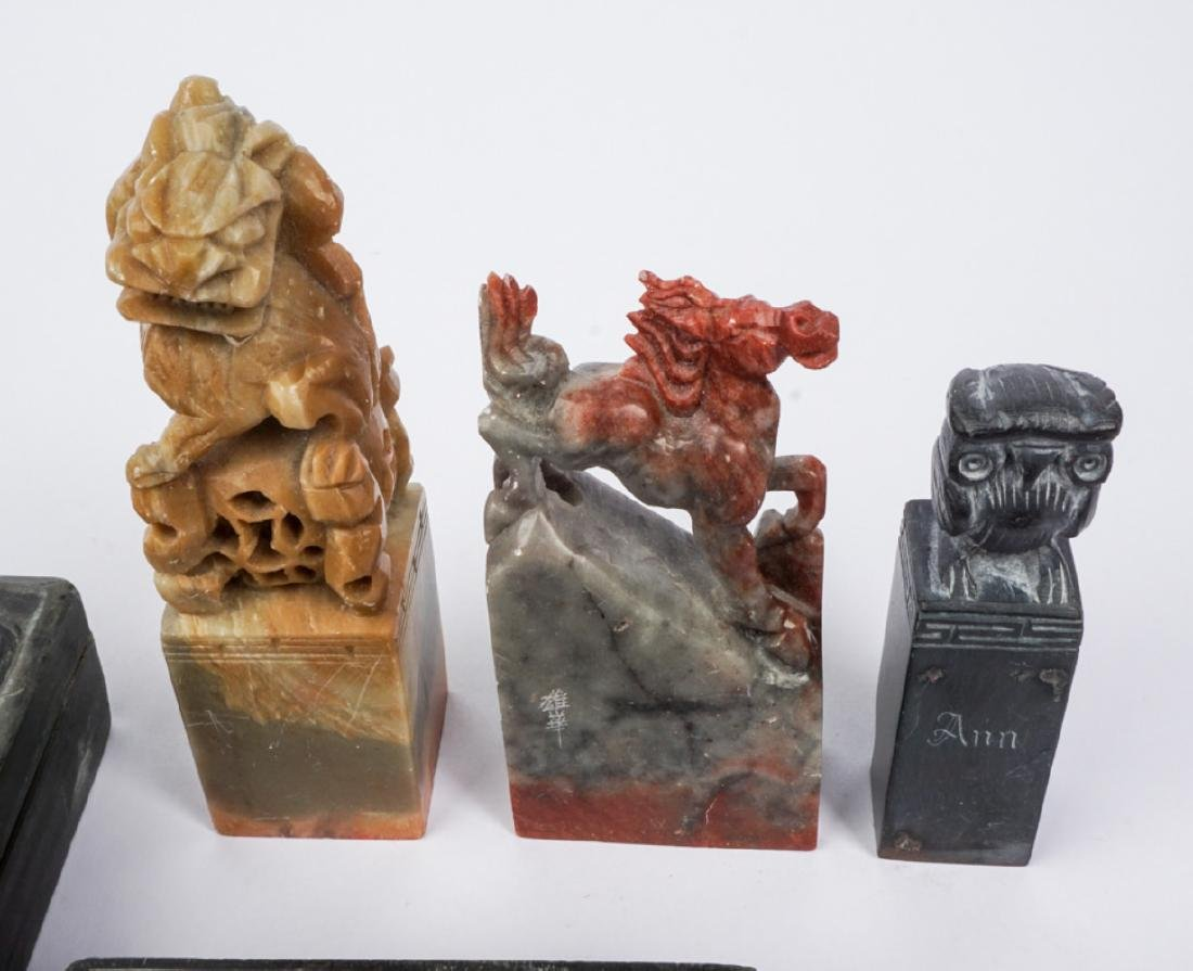 Collection of Chinese Seals & Ink Block - 3