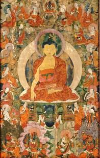 Early 18th Century Tibetan Thangka