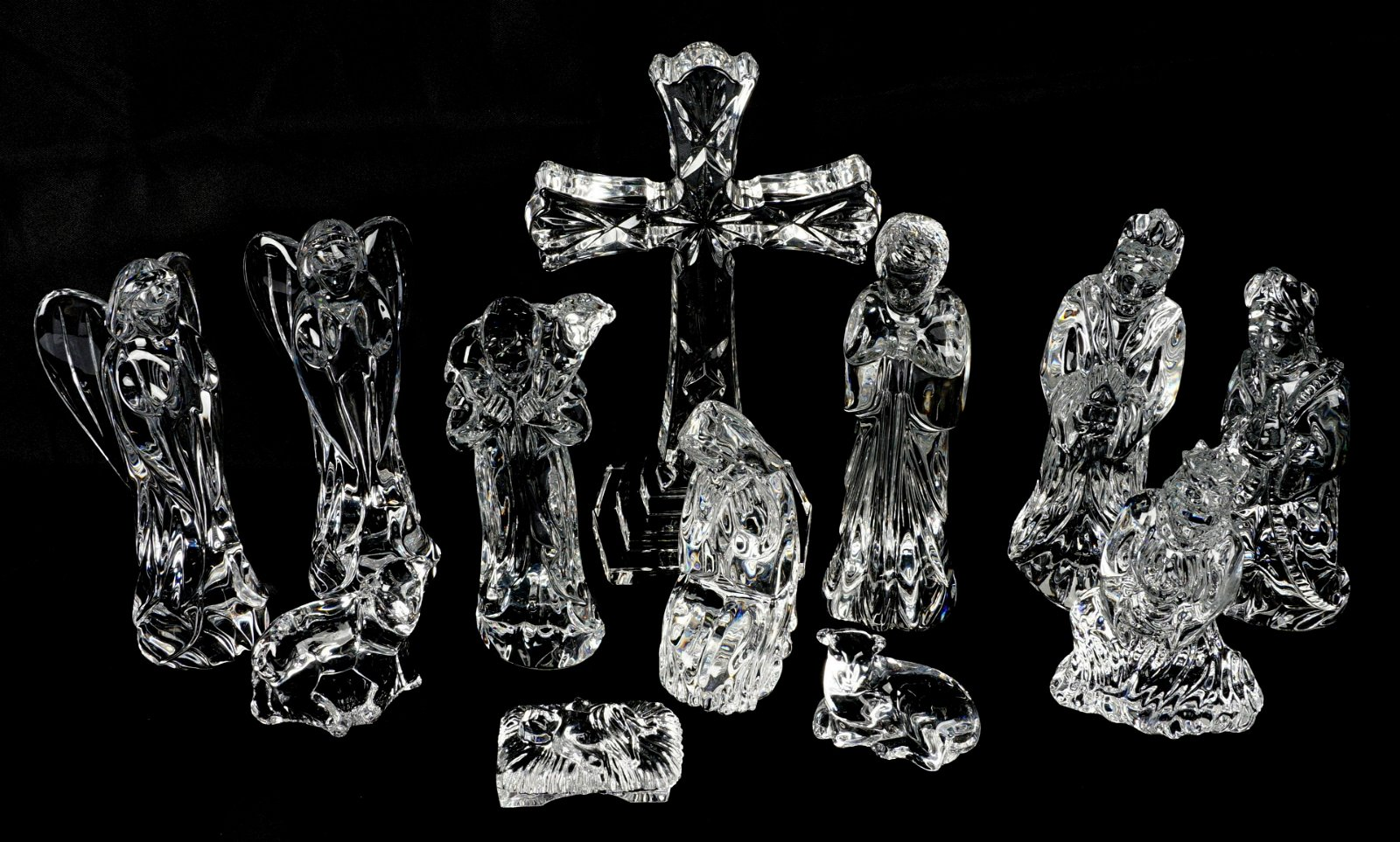 Waterford Crystal Nativity Set