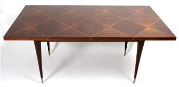 Tommi Parzinger for Charak Parquetry Dining Table