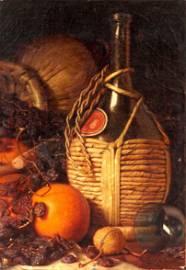 1892 Lemuel Everett Wilmarth Still Life Painting
