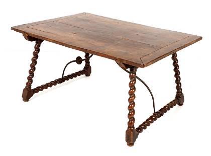 18th Century Spanish Trestle Table