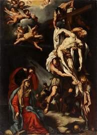 Luca Giordano School Descent from the Cross
