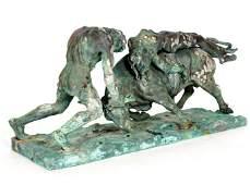 Vincenzo Cinque Abduction of Europa Bronze