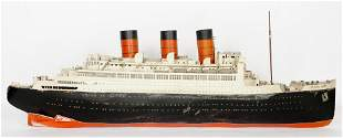 Large Queen Mary Hand Crafted Cruise Ship Model